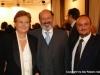 Carlo Vittorio Giovannelli con Luigi Colombo e Carla Tanosca