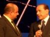 CarloVittorio Giovannelli con  Silvio Berlusconi
