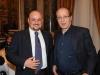 CarloVittorio Giovannelli con Paolo Berlusconi ospite di Mediawatch Osservatorio Giornalistico