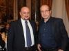 Carlo Vittorio Giovannelli con Paolo Berlusconi ospite di Mediawatch Osservatorio Giornalistico